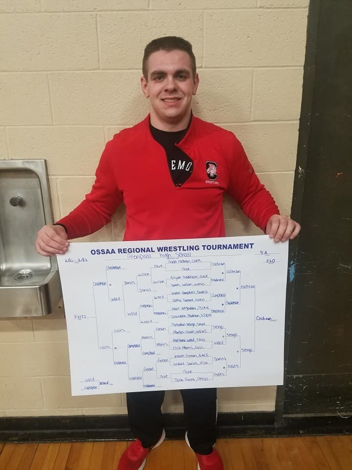 Wrestling Regionals - going to state