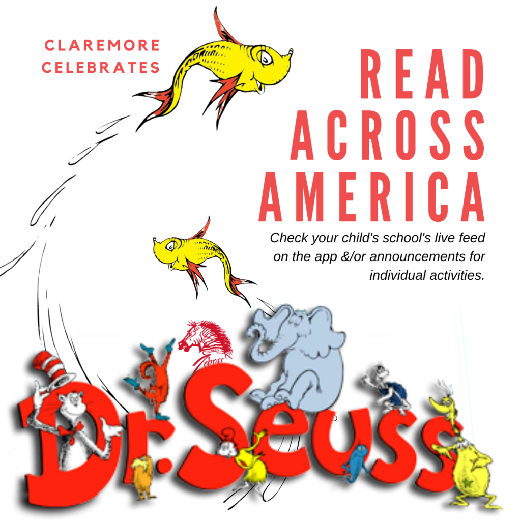 CPS elementary schools are celebrating Read Across America Week