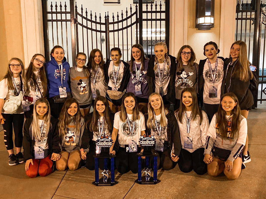 CHS dance team takes 2nd place in Medium Varsity Open and a 3rd place in Medium Varsity Kick at Nationals in Orlando, FL.