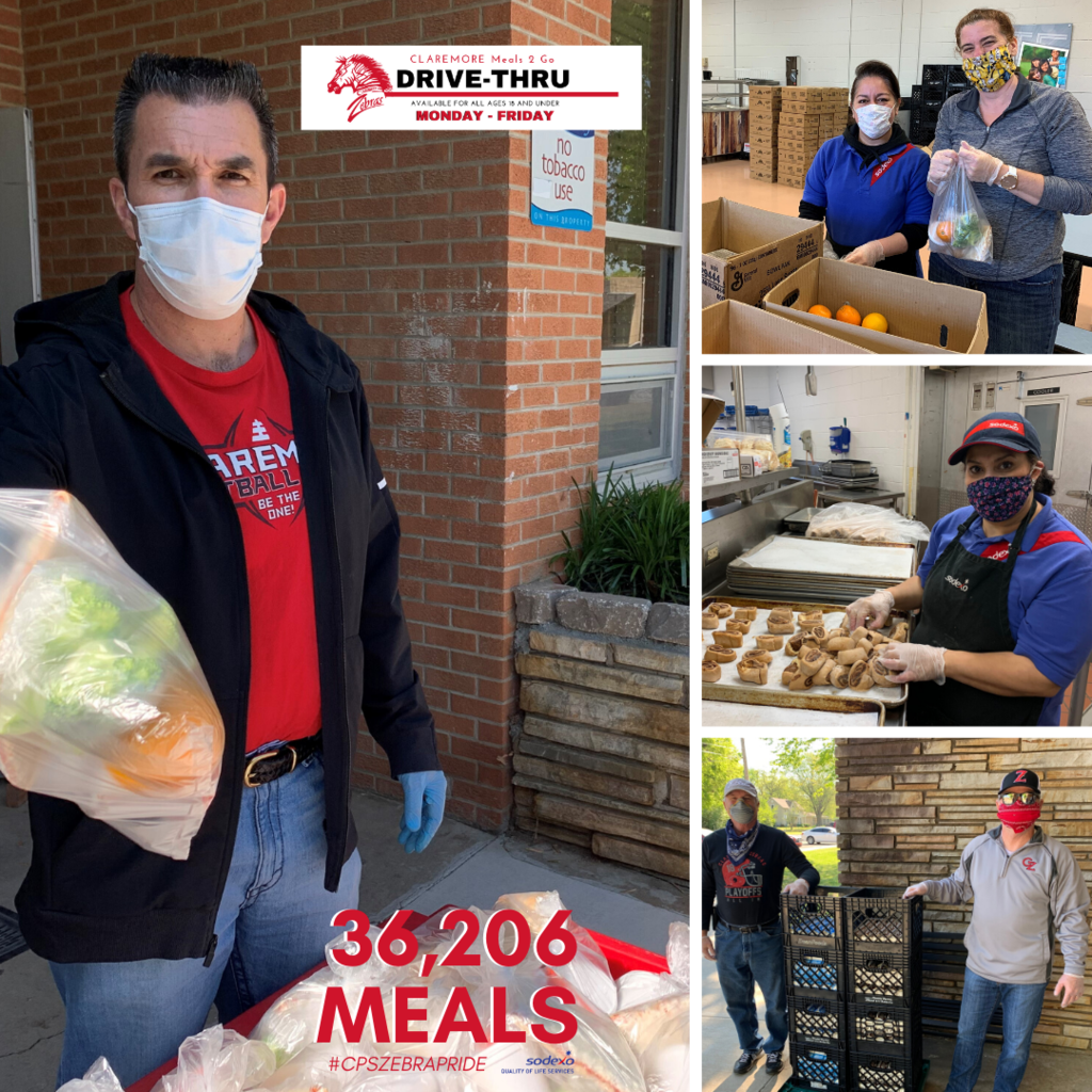 Last week we added 10,672 meals for a current total of  36,206 meals delivered.