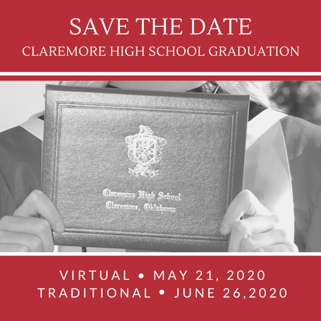 Graduation Update 5.15.20 l  5:00 PM   Read more about the virtual and traditional graduation.