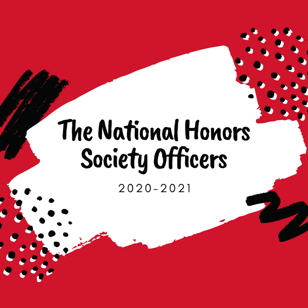 Congratulations to the 20-21 CHS National Honor Society Officer Team.