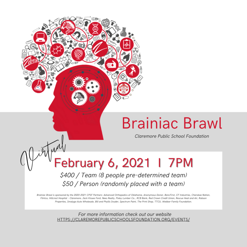 Brainiac Brawl Registration